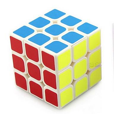 / Cube velocidade lisa 3*3*3 / Cubos Mágicos Arco-Íris ABS