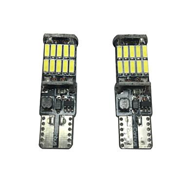 2pcs Auto Leuchtbirnen SMD 4014 2000 lm Leselampe / Kennzeichenbeleuchtung / Seitenmarkierungsleuchte