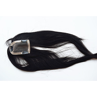 Remy hår Toupéer Lige Helblonde