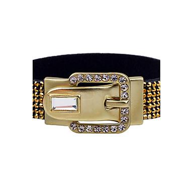 Herre Dame Par Vedhend Armband Armringer Tennis Armbånd - Personalisert Vintage Bohemsk Rund Line Formet Sølv Gylden Armbånd Til Bryllup
