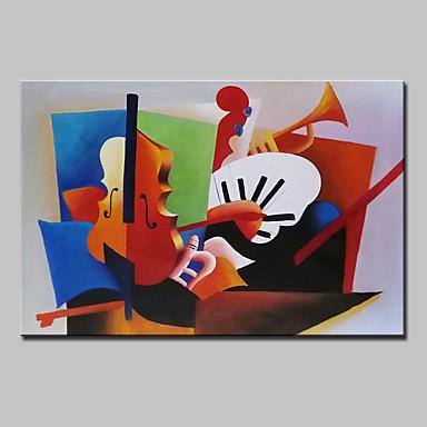 Hang-geschilderd olieverfschilderij Handgeschilderde - Abstract Klassiek Kangas