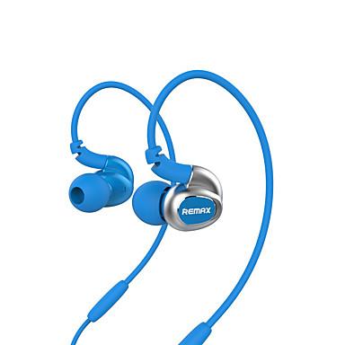 Remax RM-S1 No ouvido Gancho para Orelha Com Fio Fones Dinâmico Plástico Esporte e Fitness Fone de ouvido Isolamento de ruído Com