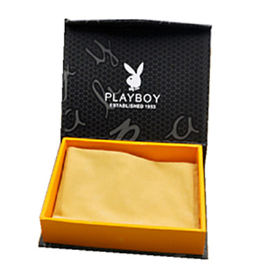 musta väri, muu materiaali pakkaus& merenkulun pitkä lompakko laatikko pakkaus kahden
