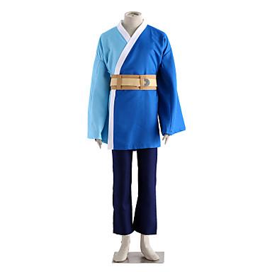 geinspireerd door Naruto Mitsuki Anime Cosplaykostuums Cosplay Kostuums Effen Lange mouw Handschoenen Riem Tas Kimono Jas Short Voor