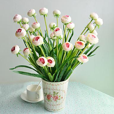 1 1 Afdeling Polyester / Plastik Others Bordblomst Kunstige blomster 219.29inch/49cm