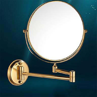 Spiegel / Gold / Wandmontage /25*15*21cm /Edelstahl / Zinklegierung /Modern /25cm 15cm 1.8
