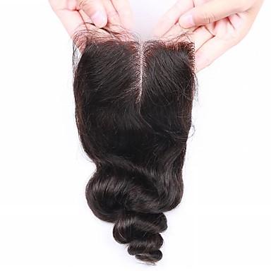 Hiukset kude sulkeminen Intialainen Löysät aaltoilevat 12 kuukautta 1 Kappale hiukset kutoo