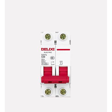 de circuito tipo de disjuntor 2p c ar alternar disjuntor miniatura