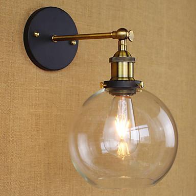 Alcatraz edison fløjte dekorative væglampe pære