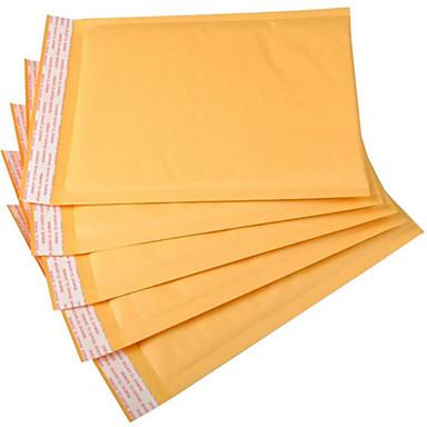 de courier sacos de papel kraft sacos de embalagem sacos bolha envelope logística um pacote de cinco
