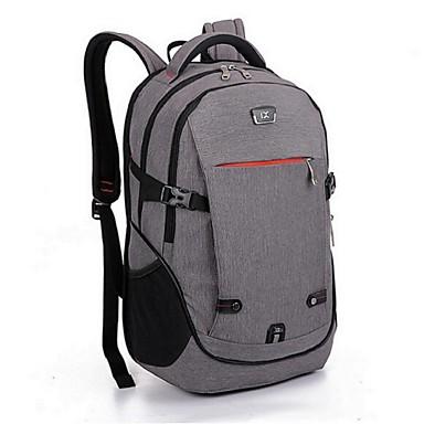 30 L Rygsæk pakker Laptop Pakker rygsæk Fritidssport Campering & Vandring Rejse Påførelig Multifunktionel