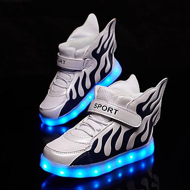 Meisjes Sneakers Comfortabel Oplichtende schoenen Tule Lente Herfst Sportief Hardlopen Wandelen Comfortabel Oplichtende schoenenMagic