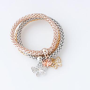 Dame Vedhend Armband - Dyr Mote Armbånd Gull / Sølv Til
