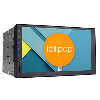 quad core android 5.1.1 universal bilnavigation 2 DIN 7 tommer 1024 * 600 hd radio stereoanlæg hovedenhed