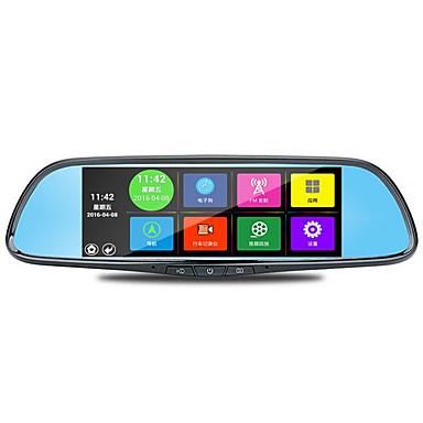 abordables DVR de Voiture-la spéciale 7 pouces voiture rétroviseur tachygraphe voix android navigation reaview wifi