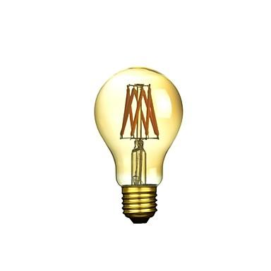 1kpl 300-500 lm E26 / E27 LED-hehkulamput A50 6 LED-helmet COB Himmennettävissä / Koristeltu Lämmin valkoinen 220-240 V / 1 kpl / RoHs