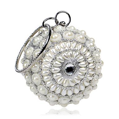 Dámské Tašky Polyester Večerní kabelka Křišťál / imitace drahokamu Akrylové šperky pro Svatební Večírek Ležérní Formální Kancelář a