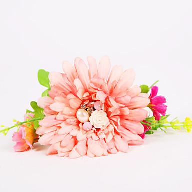 Bruidsboeketten Pols Corsage Bruiloft Feest / Uitgaan Chiffon Polyesteri Vaahto 1.18
