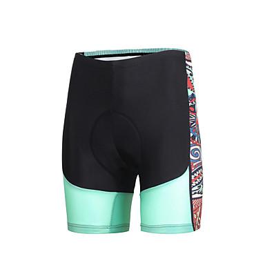 ILPALADINO Mulheres Bermudas Acolchoadas Para Ciclismo Moto Shorts / Calças Tapete 3D, Secagem Rápida, A Prova de Vento Moderno Lycra