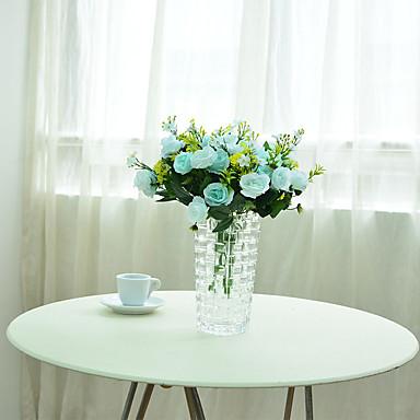 Keinotekoinen Flowers 1pcs haara Moderni tyyli Pioonit Pöytäkukka