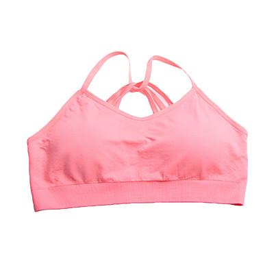 Mulheres Sutiã Esportivo Secagem Rápida Respirável Compressão Redutor de Suor Sutiã Esportivo Roupas de Compressão para Ioga Exercício e