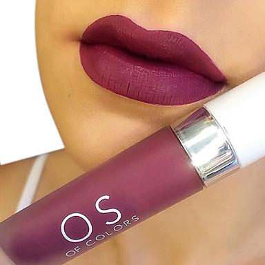 Губа Блески для губ Натуральный Повседневный макияж / Макияж на Хэллоуин / Макияж для вечеринки крем