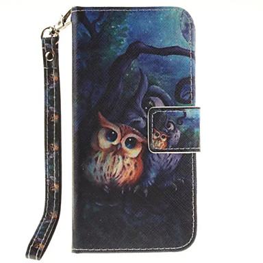 Capinha Para Apple iPhone 6 iPhone 7 Porta-Cartão Carteira Com Suporte Flip Capa Proteção Completa Animal Rígida PU Leather para iPhone 7