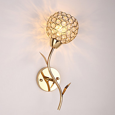AC 100-240 Max 60W E26/E27 Moderne/samtidig / Traditionel/klassisk Krom Feature for Krystal / Ministil,Atmosfærelys Væg Lamper Wall Light