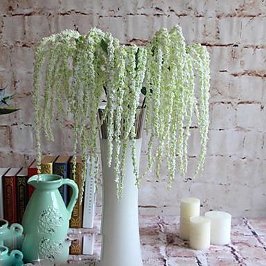 Kunstige blomster 1 Gren Moderne Stil Planter kurv av blomster