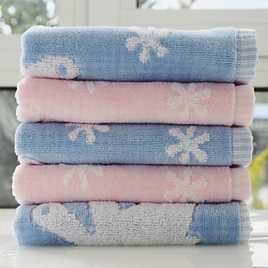 Vaskehåndklæde,Garn Bleget Høj kvalitet 100% Bomuld Håndklæde