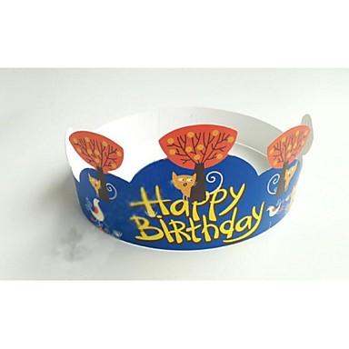 Syntymäpäivä Party Pöytä-Leivontatarvikkeet Kukat Kova kartonki Kukkais-teema