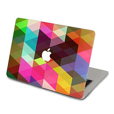 1 Pça. Proteção Autocolante para Resistente a Riscos Geométricas Ultra Fino Mate PVC MacBook Pro 15'' with Retina MacBook Pro 15 ''