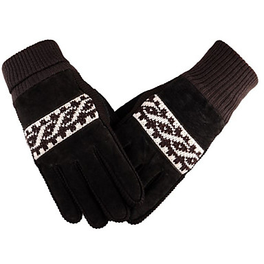 Lange Vinger Katoen motorfietsen Handschoenen