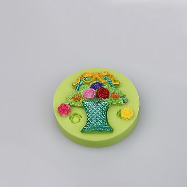 Food grade silikone skimmelsvamp reposteria fondant kage dekoration værktøj skimmelsvamp for fondant kage farve tilfældigt