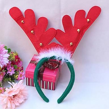 3pcs 2016 Weihnachten Geweih Haarband Stirnband Haarband Weihnachtsbaumdekorationen