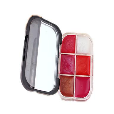 Lipglosses Våd Khaki Farvet glans / Længerevarende Flerfarvet 1 other