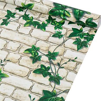 Tijolo Papel de Parede Para Casa Rural Revestimento de paredes , Tecido Não-Tecelado Material Auto-adesivo papel de parede , Cobertura