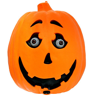 1pc halloween græskar lampe voice-kontrol induktion græskar spøgelse kaldet briller kan blinke