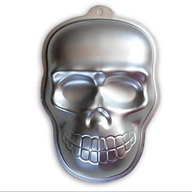 Herramientas para hornear Aluminio 3D Pastel / Chocolate Moldes para pasteles 1pc