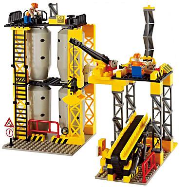 WOMA Blocos de Construir Brinquedo Educativo 858pcs Cavalo Maquina de Escavar Novidades Para Meninos Brinquedos Dom