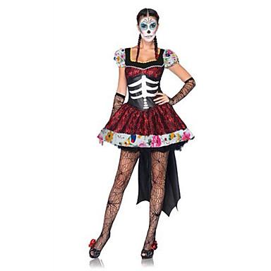 Cosplay Kostumer Festkostume Vampyr Festival/Højtider Halloween Kostumer Kjole Mere Tilbehør Halloween Kvindelig Terylene
