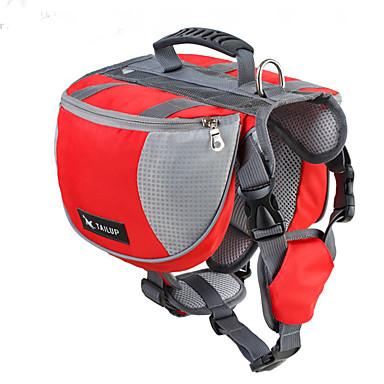 Hond Dog Pack Huisdieren Dragers waterdicht Zwart Oranje Rood Blauw