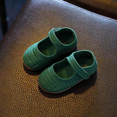 Unissex Bebê Rasos Conforto Courino Verão Conforto Velcro Rasteiro Laranja Marron Verde Rosa claro Rasteiro