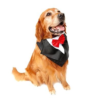 Katze / Hund Smoking / Krawatte / Fliege Hundekleidung Schleife Purpur / Rot / Blau Terylen Kostüm Für Haustiere Sommer Herrn / Damen