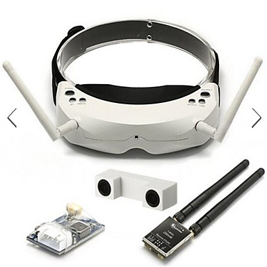 cheap RC Parts & Accessories-Skyzone SKY02S V 3D 5.8G 40CH FPV Goggles With Transmitter Camera Head Tracking HDMI DVR
