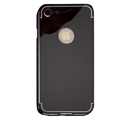 hoesje Voor Apple Spiegel Achterkantje Effen Kleur Hard Metaal voor iPhone 7 Plus iPhone 7 iPhone 6s Plus iPhone 6 Plus iPhone 6s Iphone