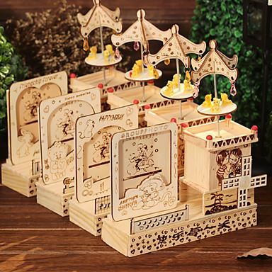 Halloween Feestbedankjes & cadeaus - Ornamenten Label Hout rustieke Theme