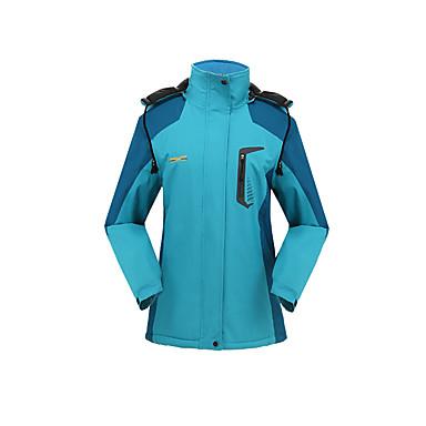 Unisexo Jaqueta Softshell de Trilha Térmico/Quente A Prova de Vento Vestível Jaquetas Softshell para Acampar e Caminhar Inverno M L XL