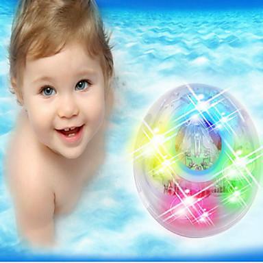 luz banho de banho de luz coloridos brilhantes brinquedos de banho de luz das crianças