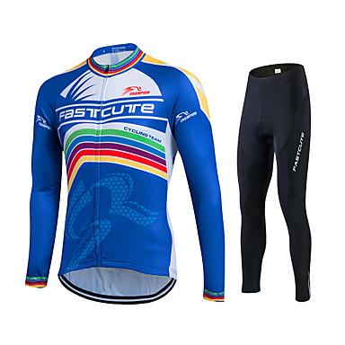 Fastcute Homens Mulheres Manga Longa Calça com Camisa para Ciclismo Moto Meia-calça Camisa/Roupas Para Esporte Conjuntos de Roupas,